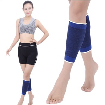 Nylon Compression Protect Leg Sleeves Running Calf Support For Sports