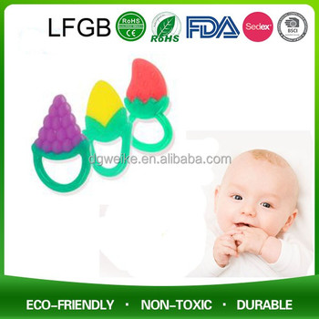Little Toader Teething Toys / Broccoli Bites