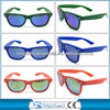 2014 new custom plastic sunglasses, promotion reflection sunglasses