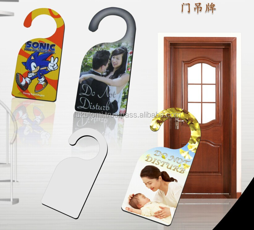 Sublimation Unisub Hardboard Door Hanger