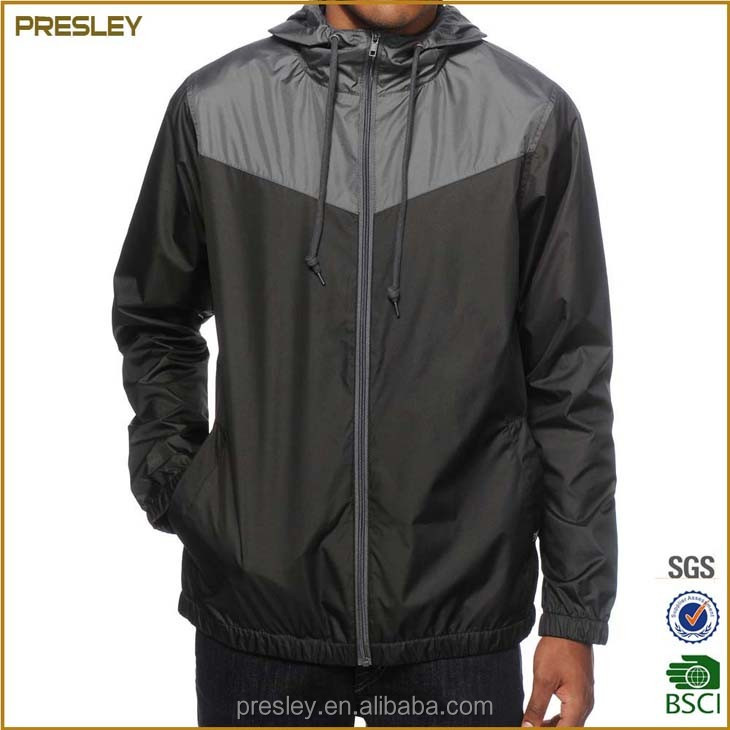 Manufacturer wholesale cheapest waterproof nylon polyester windbreaker with OEM service