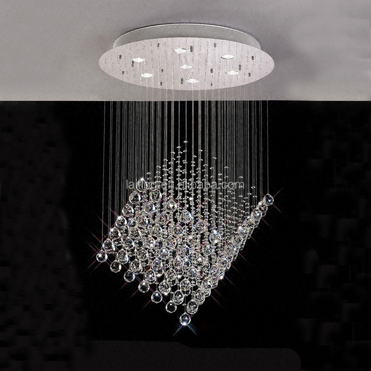 Crystal ball chandelier high quality fancy light silver crystal crystal ball chandelier high quality fancy light silver crystal ball pendant light92007 aloadofball