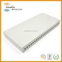 Providers 24 Port Patch Panel FC Simplex Rack Mount Fiber Optic Termination Box Manufacturers