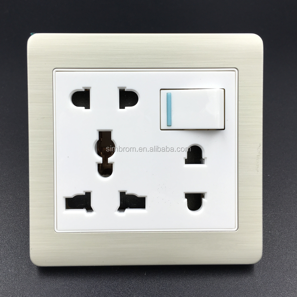 Bangladesh Pakistan Standard High Quality 13A Helpful Industrial Switch Socket