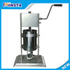 Automatic stainless steel electric pneumatic quantity kink sausage stuffer filler