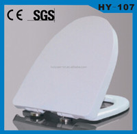 HY-107 china supplier wc toilette fast fix hinge toilet seats cover