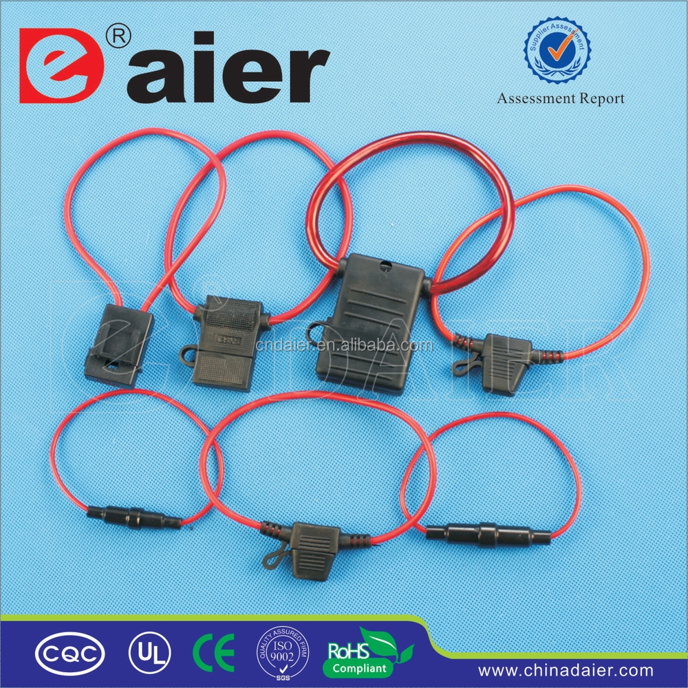 Automotive Blade Fuse Box Inline 15 Wiring Diagram Images Diagrams Daier In Line Block Socket Holder