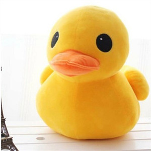 extra large doll yellow duck very cute plush toy for children stuffed animals