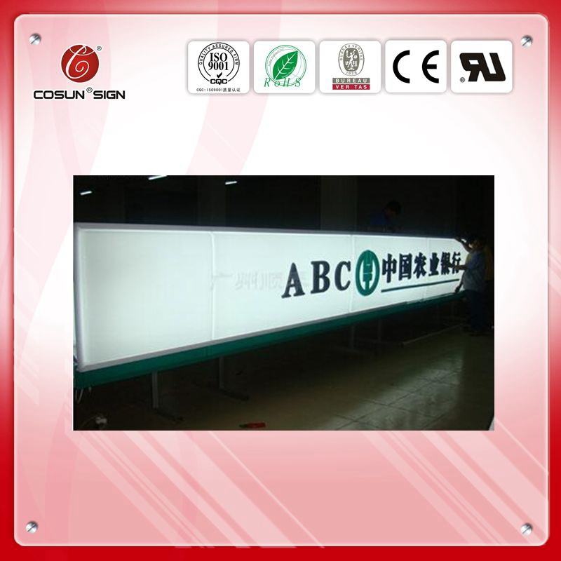 outdoor vacuum forming round light box manufacturer