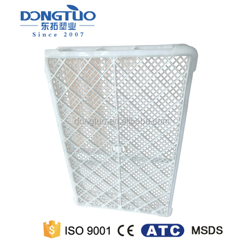 Unbreakable poultry transport crate, white used crates for sale, functional large plastic crates