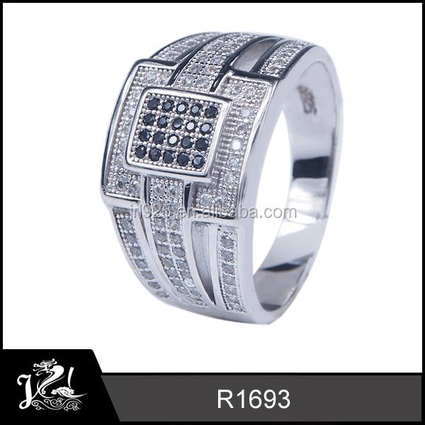 Venta de anillos de plata hombre