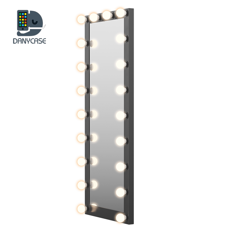 Factory Wholesale Led Full Length Hollywood Led Makeup Mirror With