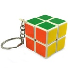 Promotion gift multifunction puzzle custom 3cm mini cube magic key chain