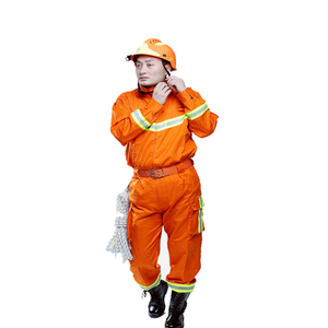 orange plastic protective firefighting rescue gear
