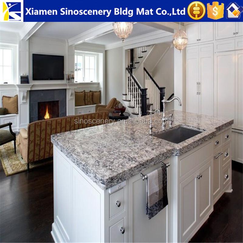 Küche Weiß Mit Granit