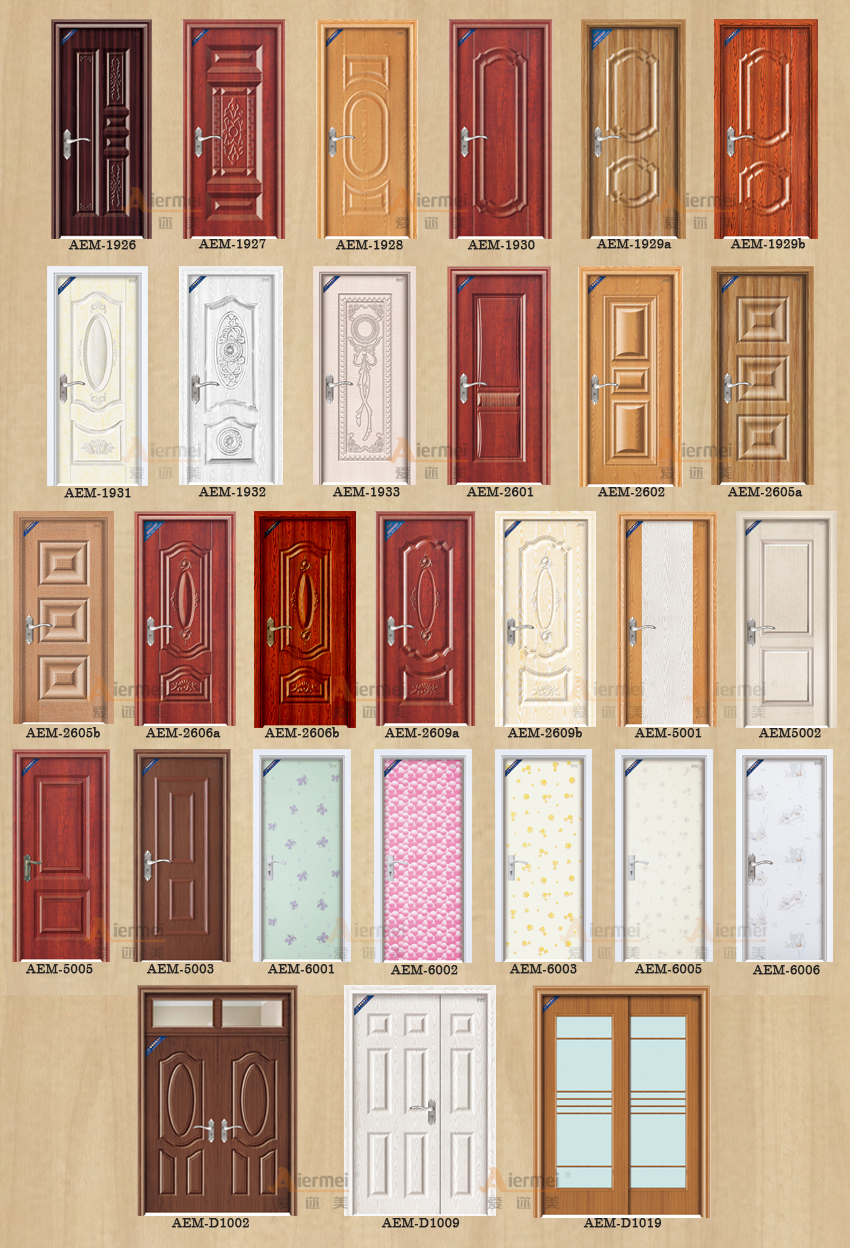 Manufacturer latest design pvc coating steel wood door designs in pakistan. Manufacturer Latest Design Pvc Coating Steel Wood Door Designs In