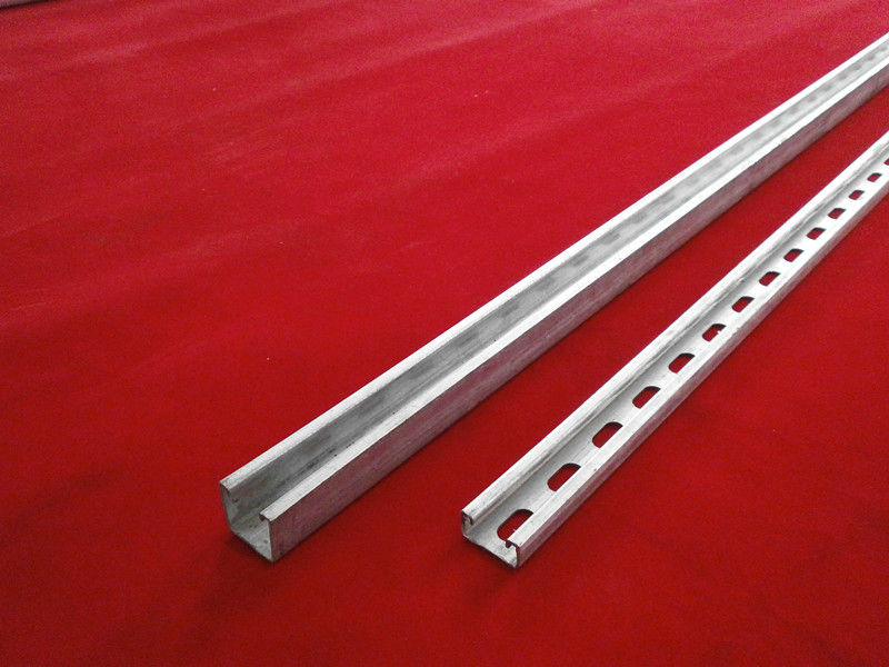 Perforated and steel Galvanized Stainless Grade Zinc Plated C Strut Channel