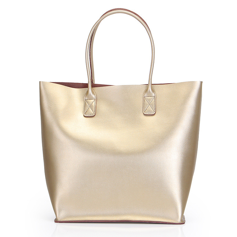 Get Quotations Fashion Genuine Leather Luxury Handbags Women Bags Designer Casual Totes Per Bag Sliver Handbag