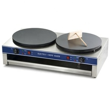 Profesional Industri Crepe MAKER/<span class=keywords><strong>Pancake</strong></span>/Doubl Electric Crepe Maker