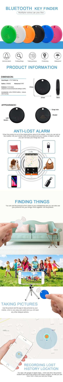 Bluetooth distance sensor mobile phone anti theft alarm chipolo