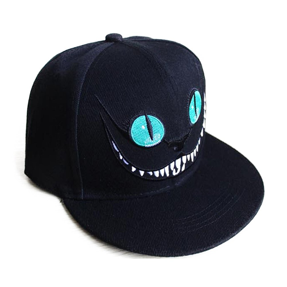 GUANG JIEYU Cat Cartoon Cap for Unisex Adult/Teen/Student Sport Hiphop Summer Womens Sun Hat Adjustable Baseball Snapback Hats Caps