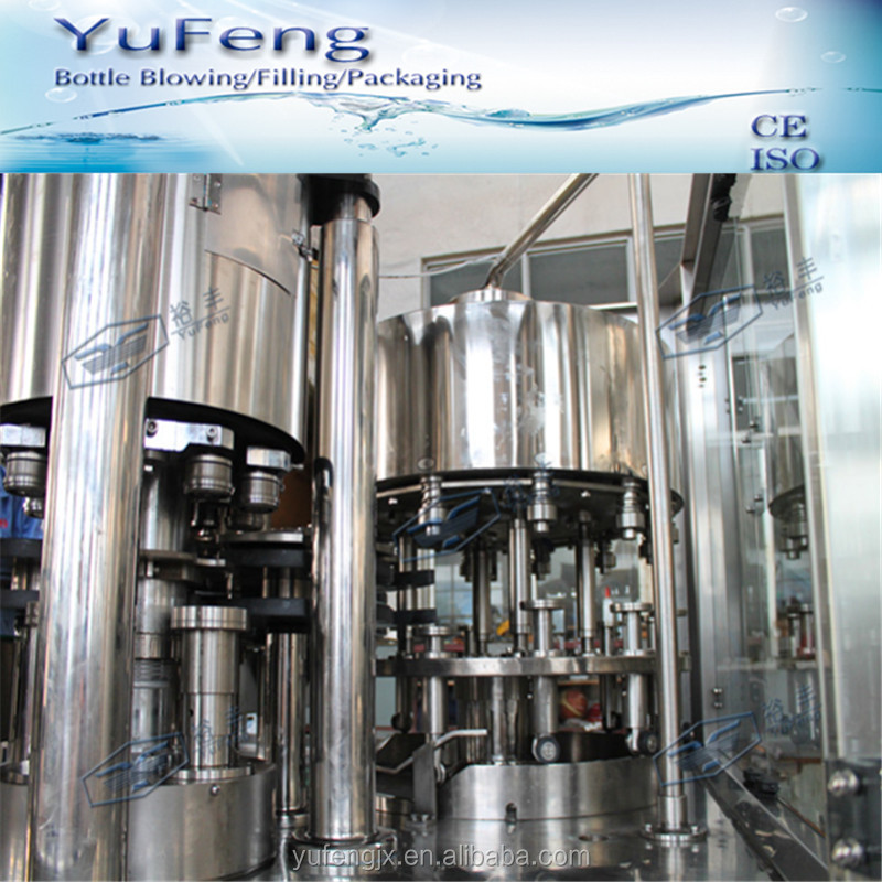 Zhangjiagang tin cans 8000 can per hour carbonated drink filling sealing machine cost