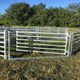 Livestock Metal Cattle Fence With Fence Panel