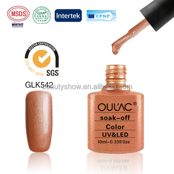 Oulac New Gel Polish Rich Color Private Label Nail Manufactures