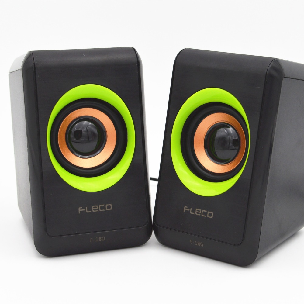 Speakers computer speaker Super mini portable 3.5mm jack 2. 0 channel outdoor speaker with USB