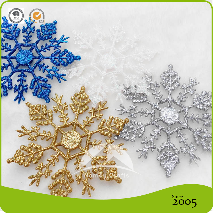 Exquisite Christmas hanging decoration polystyrene snowflakes ornaments