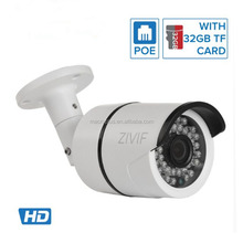 Factory Hot selling OEM 1080p wireless security outdoor ip camera wifi mini poe security camera