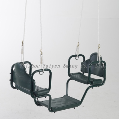 Outdoor Face To Face Glider Two Swing Seat For Kids Buy Outdoor
