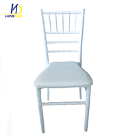 Hot Banquet China Cheap Stackable Dining Outdoor White Plastic Wedding Tiffany Chiavari Chair