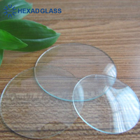 Round Shape Convex Clock Glass
