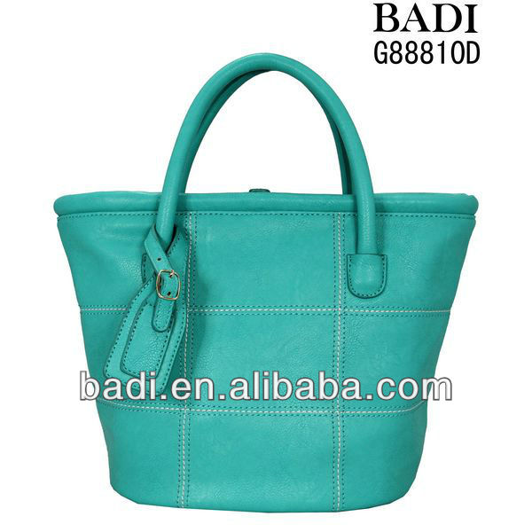 2013 green quilted pu bags tote fashion handbags women bags