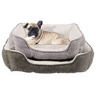 China Designer Pet Accessories Wholesale Washable Comfortable Luxury Durable orthopedic Pet Dog Bed