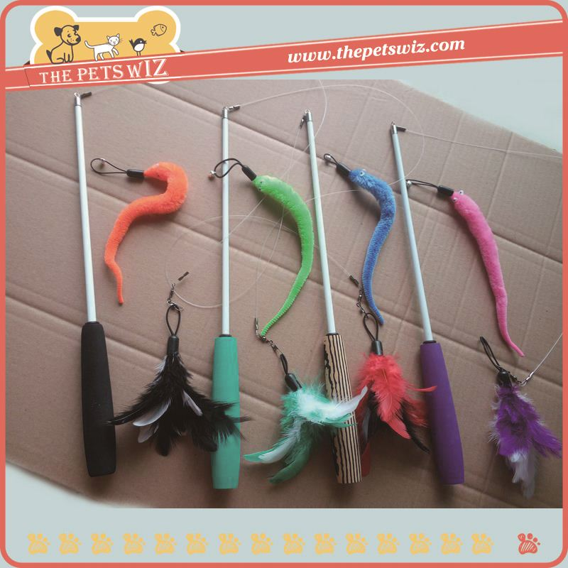 Cat mouse stick ,h0t5m cat toy stick for sale