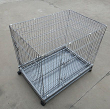Foldable Metal Dog Cage ,Dog Cage with wheels or not