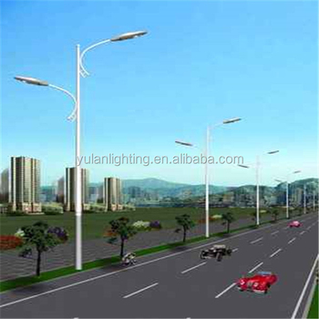 Q235 Commercial Outdoor Lamp Post/electrical Poles In Uae/street ...