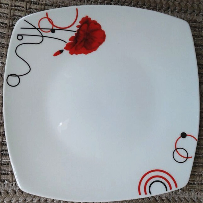 red square dinner platesmake your own dinner plateswhite square wholesale dinner plates & Red Square Dinner PlatesMake Your Own Dinner PlatesWhite Square ...