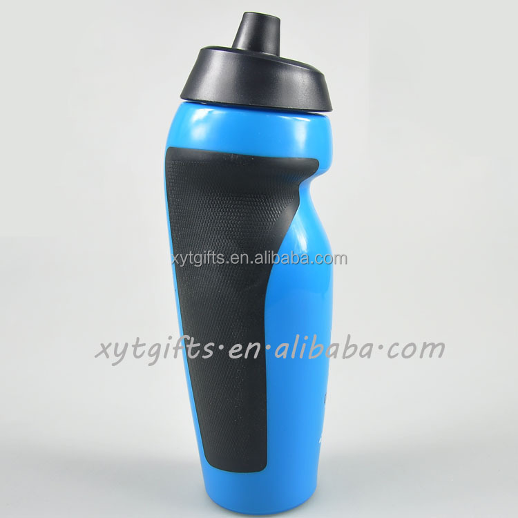 Color custom eusable PP/PE sport tritan 600 ml squeeze water bottle
