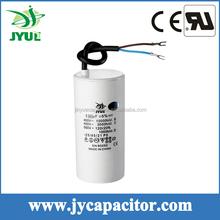 CBB60 motor running capacitor 40uf 450v ,cable