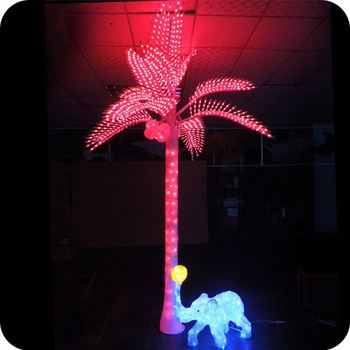 Led lighted christmas tree outdoor light up palm tree backyard led lighted christmas tree outdoor light up palm tree backyard decoration mozeypictures Images