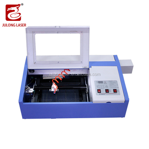 40W CO2 Laser Engraving Machine With 3D Laser Cutting Machine Cloth/ leather/ rubber