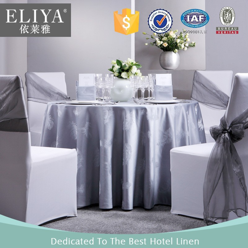 phoenix feather eliya hotel modern table cloth/hotel bed cover set linen