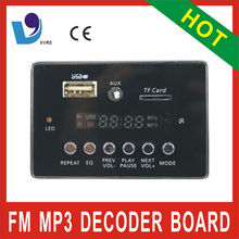 VTF-003 radio scanner mp3 module with fm sd ir control
