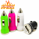 Mini USB Charger Ultra Short Bullet Car Charger with IC Protection