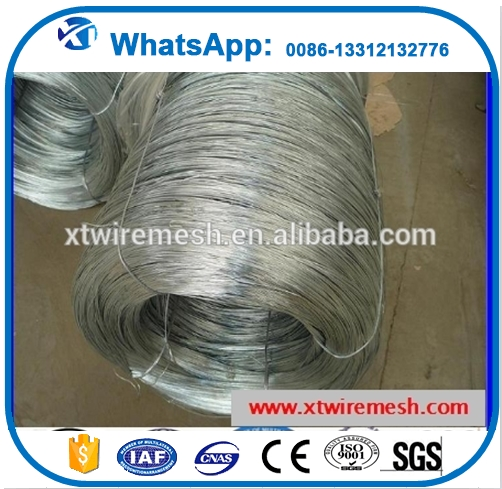 galvanized binding wire galvanized steel wire rope 10mm hot dipped galvanized steel wire