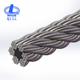 High Carbon SAE 1006,1008, 1010,1020 Steel Wire Rope Nominal Tensile Strength