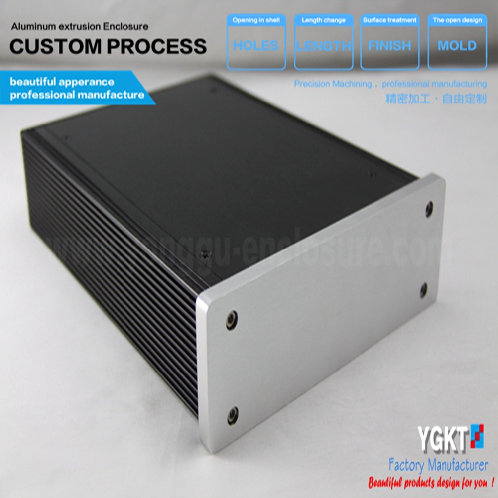 180*60*200 mm (w*h*l) Split Stereo X-10D preamp base on Musical Fidelit preamplifier enclosure